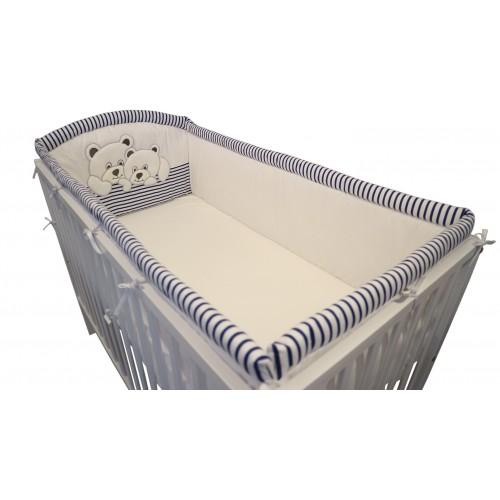 Ochraniacz Miś 2D Dookoła łóżeczka