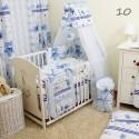 14 częściowy komplet pościeli dla niemowląt z baldachimem