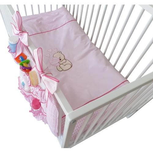 2 - EL Pościel niemowlęca, Pościel  z haftem, Poszwa 90x120cm i poszewka 40x60cm