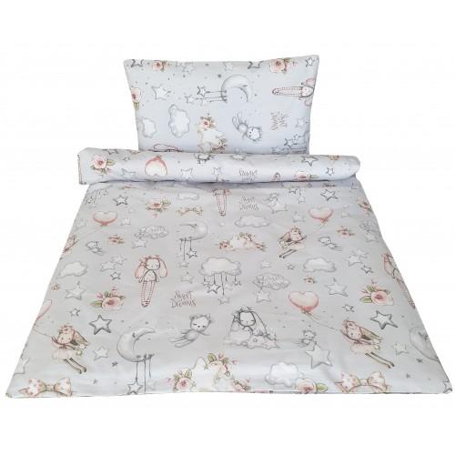 Pościel bajkowa do łóżeczka w lalki