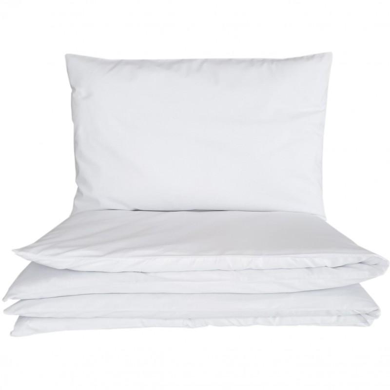 Dziecięca pościel do łóżeczka biała