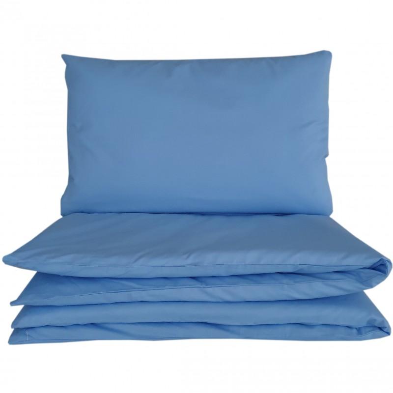Pościel niemowlęca niebieska do łóżeczka