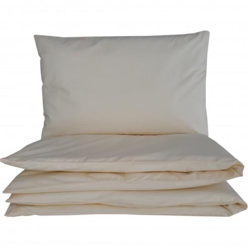 Ecru - poszewki do łóżeczka - gładkie