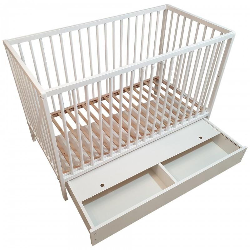 Łóżeczko dziecięce z szufladą