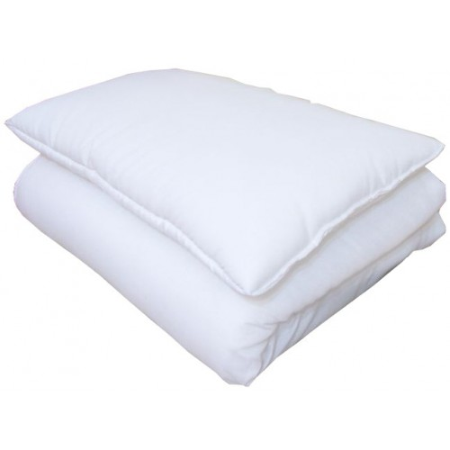 Kołdra i poduszka do łóżeczka 90x120cm