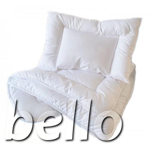 Kołderka i poduszka do łóżeczka. Wypełnienie 90x120cm - Pikowane