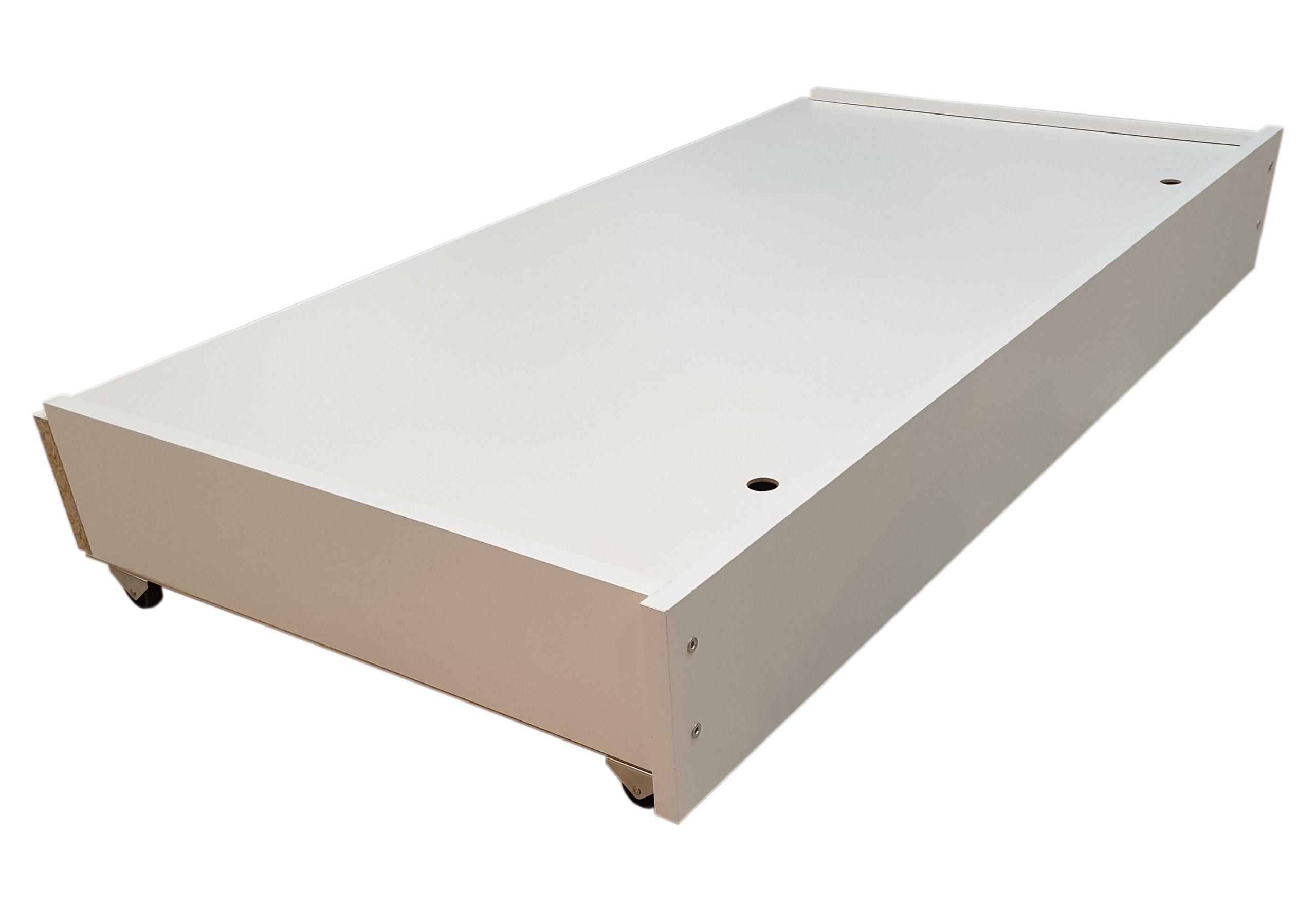 Drewniana szuflada do łóżeczka