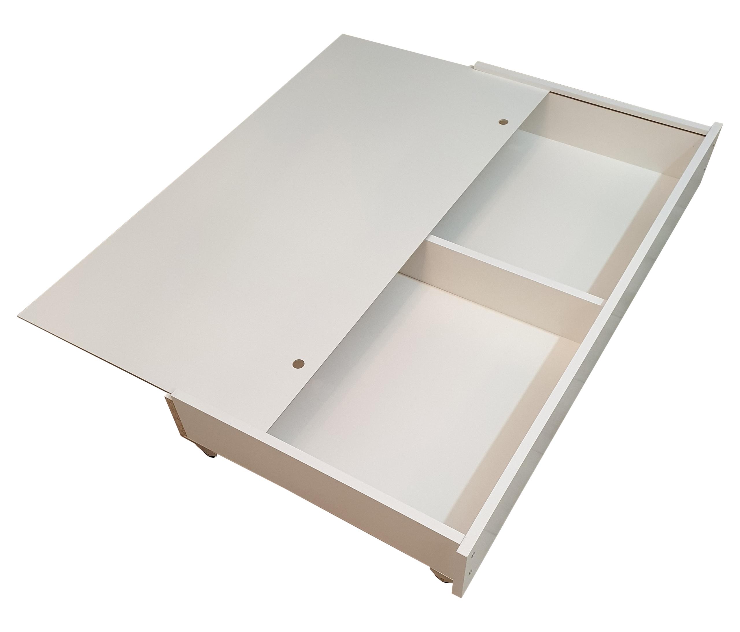 Drewniana szuflada pod łóżeczko
